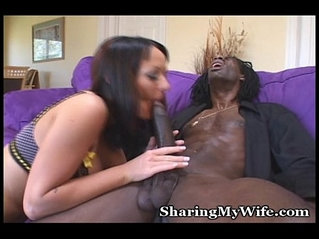 Yummy Tits On Wife Fucking with Black