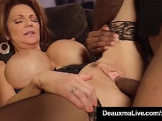 Texas Cougar Deauxma Gets her ass Pounded In Hotel By Big Black Cock