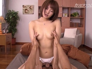 Brother Seduce Petite Step Sister in Thong to First Fuck