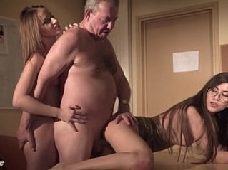 Sexy secretary joins in hardcore with boss and gets deep pussy fuck