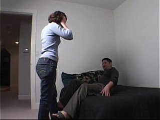 YesSIgnals Condom breaks on a cute young brunette on a wild blind date