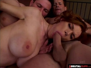 BrutalClips Dirty Redhead Gets Penetrated