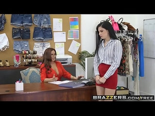 Hot And Mean Lick A Boss scene starring Bobbi Dylan and Diamond Foxxx