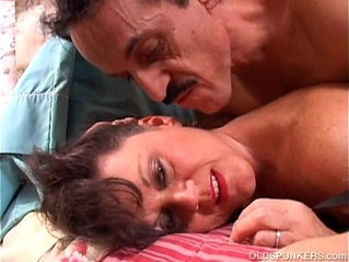 Debella is a saucy old spunker in stockings loves to fuck