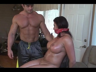 MILF From Didnt Obey So She Is Punished
