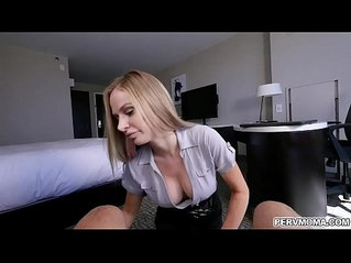 Business trip with MILF Jenna Jones!!She feels horny and swallowed his stepsons dick gets a tasty facial ending.