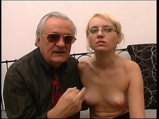 Old pig introduce a mature blonde whos about to get fucked