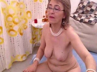 Granny fills both holes with their toys