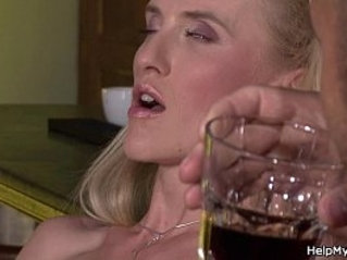 Sexy blonde wife share