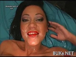 Hungry for facial cumshots