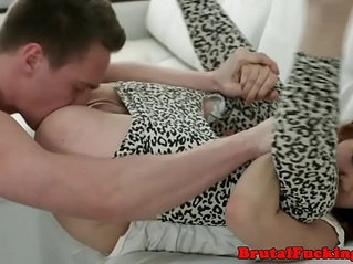 19yo beauty rough fucked in doggystyle