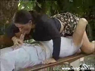 Garden Fuck session with Nasty Bitch