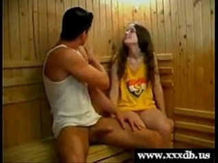 Femke gets doggystyle fucked by her gym teacher