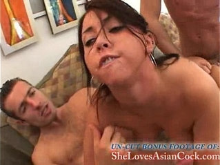 Cody Lane Double Anal dicks in her ass at the same time