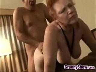 Red Haired Grandma Loves Getting her pussy Pounded