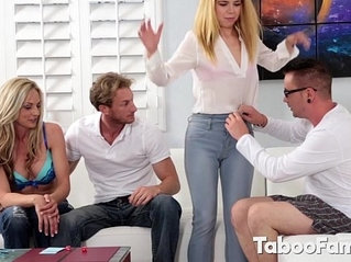 Pretty Chick Pounded by her Stepbro