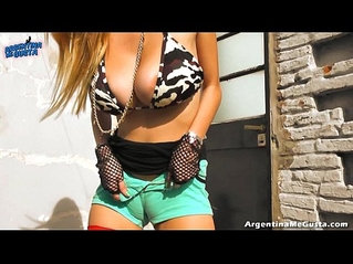 Monster Natural Tits and Big Puffy Cameltoe On Blonde amateur Teen!